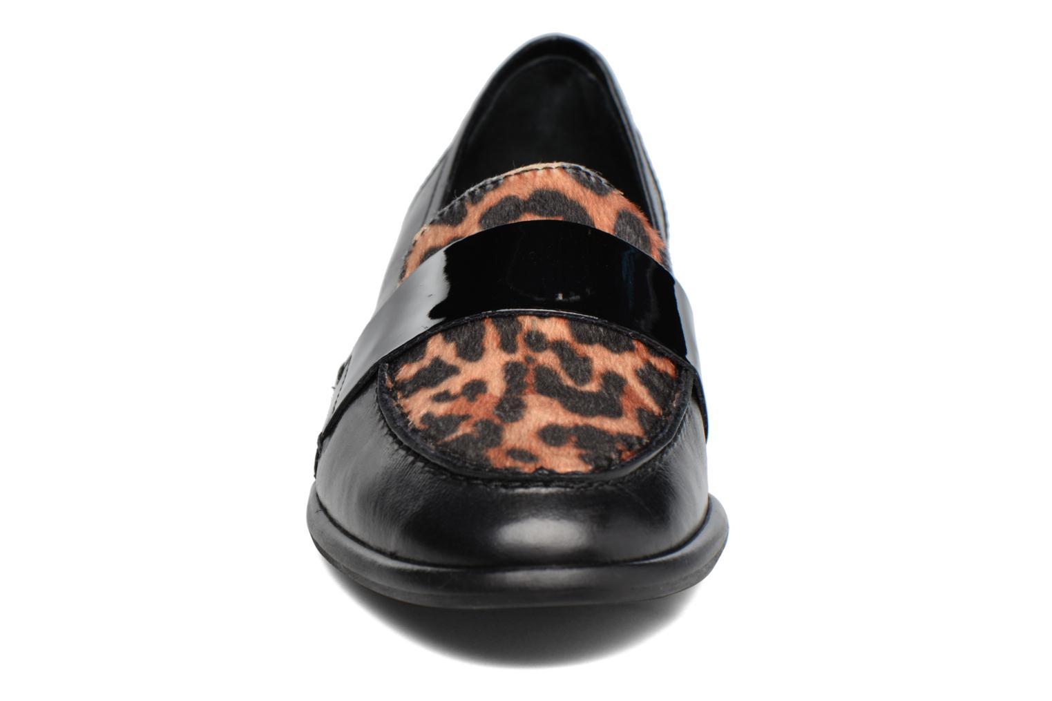 Loafers Georgia Rose Loupom Black model view