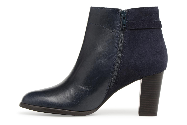 Bottines et boots Georgia Rose Lylia Bleu vue face
