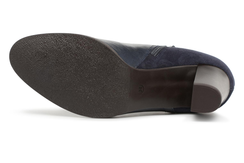 Bottines et boots Georgia Rose Lylia Bleu vue haut