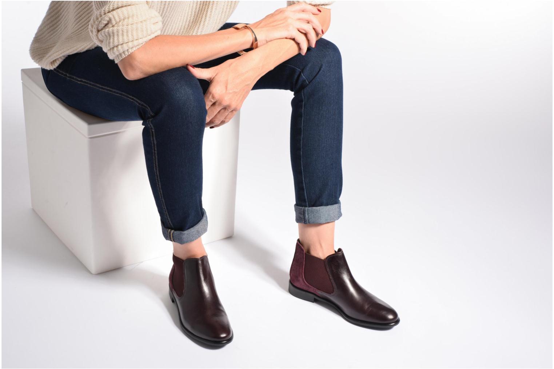 Bottines et boots Georgia Rose Lavole Noir vue bas / vue portée sac