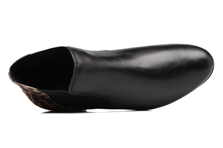 Bottines et boots Georgia Rose Lavole Noir vue gauche