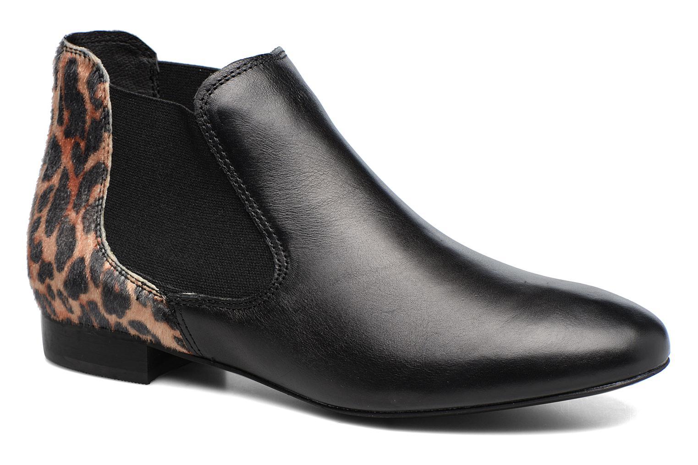 Bottines et boots Georgia Rose Lavole Noir vue détail/paire