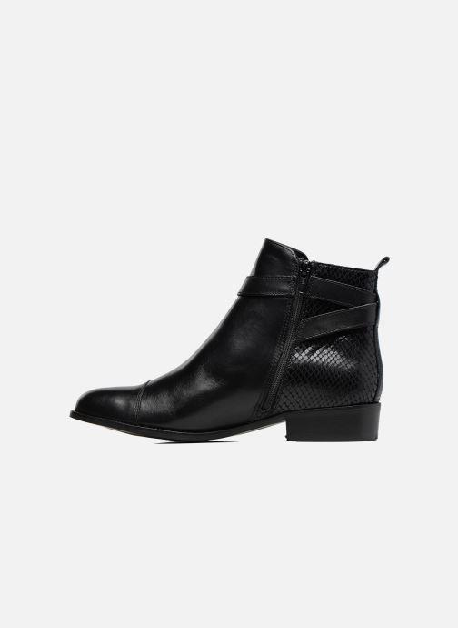 Bottines et boots Georgia Rose Lavanda Noir vue face