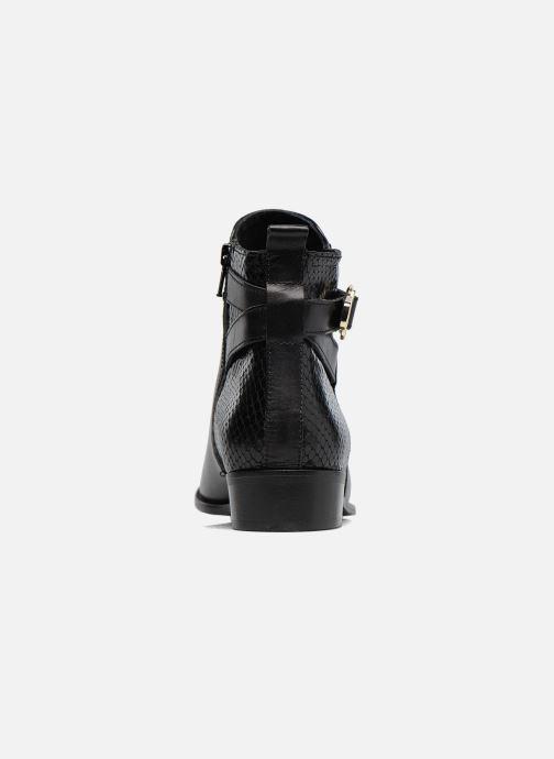 Bottines et boots Georgia Rose Lavanda Noir vue droite