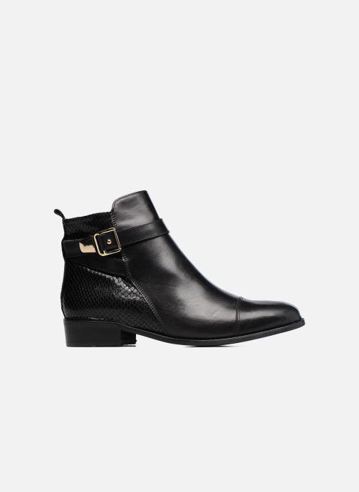Bottines et boots Georgia Rose Lavanda Noir vue derrière