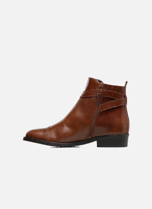 Bottines et boots Georgia Rose Lavanda Marron vue face