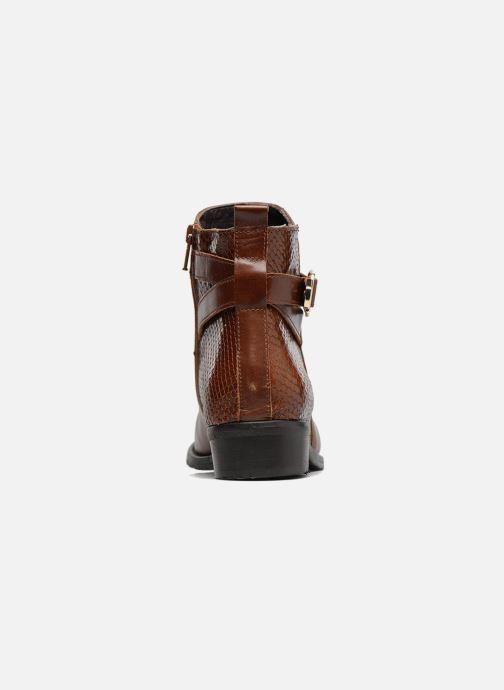 Bottines et boots Georgia Rose Lavanda Marron vue droite