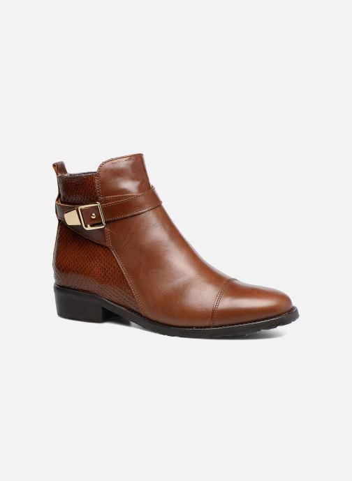 Bottines et boots Georgia Rose Lavanda Marron vue détail/paire