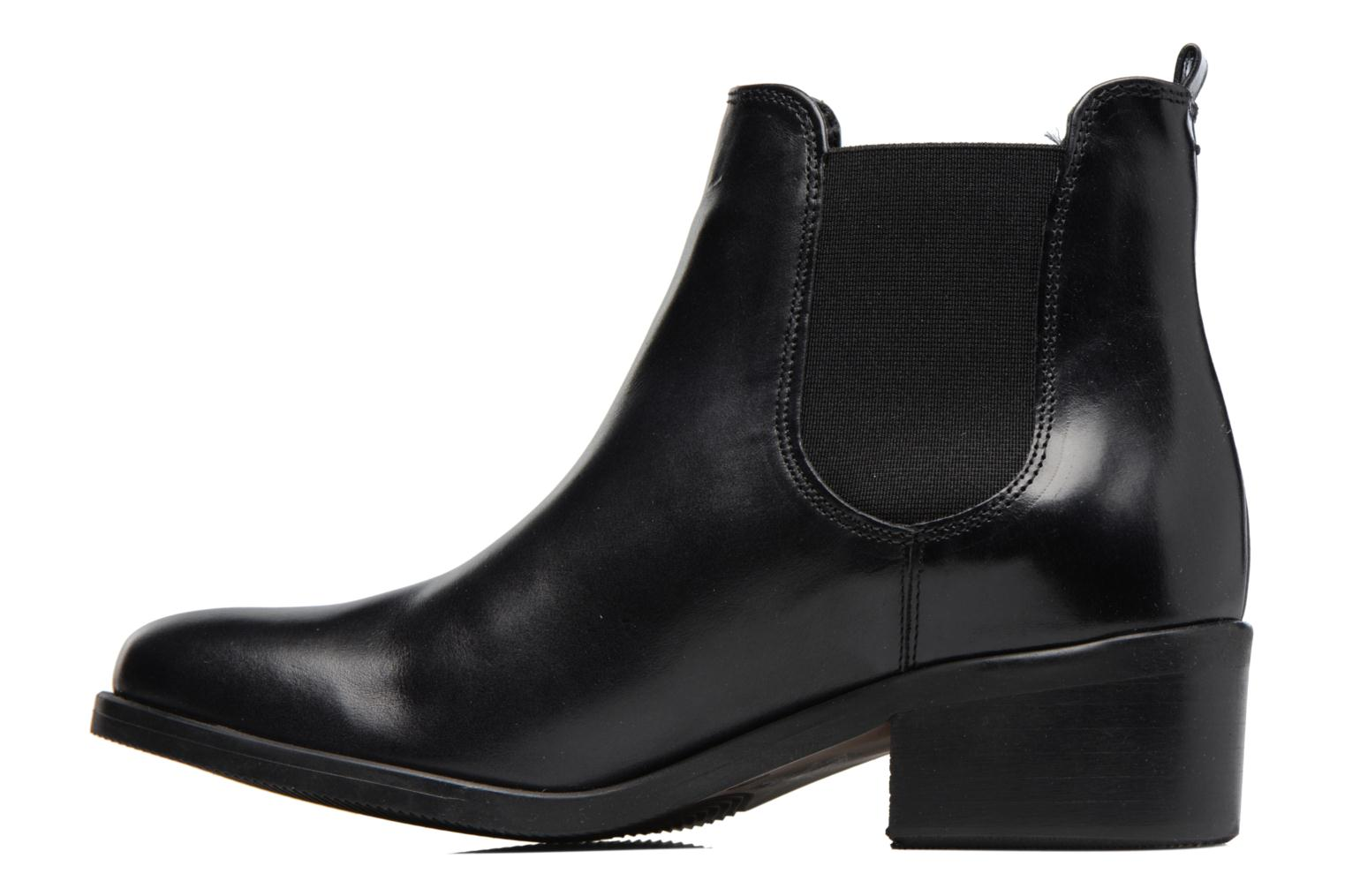 Ankle boots Georgia Rose Ladou Black front view