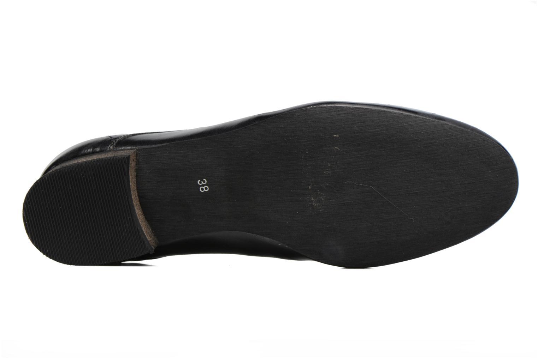 Chaussures à lacets Georgia Rose Lisy Noir vue haut