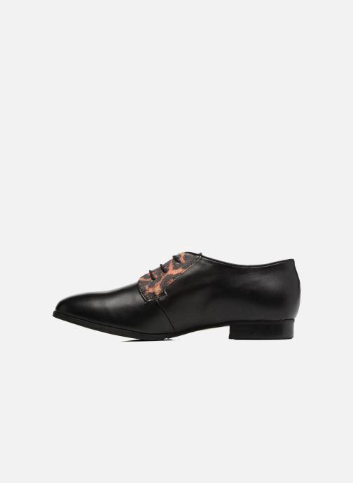 Rose Cuir Lapra Noir À Chaussures Lacets Georgia Et Marron tCxBshQdor