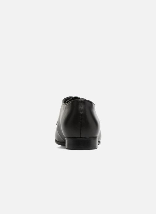 Chaussures à lacets Georgia Rose Lapra Noir vue droite
