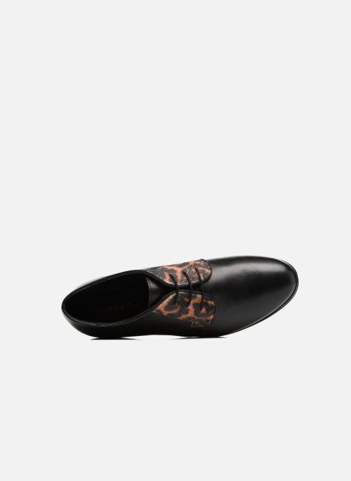 Chaussures à lacets Georgia Rose Lapra Noir vue gauche