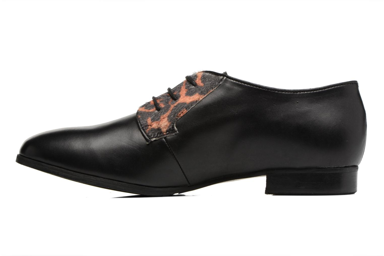 Zapatos con cordones Georgia Rose Lapra Negro vista de frente