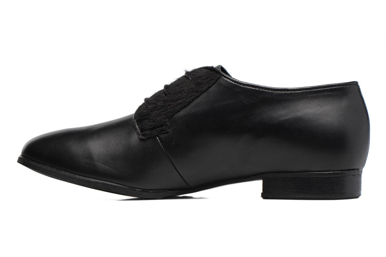 Chaussures à lacets Georgia Rose Lapra Noir vue face
