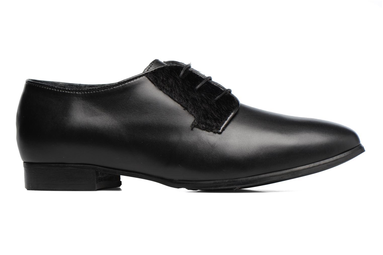 Chaussures à lacets Georgia Rose Lapra Noir vue derrière