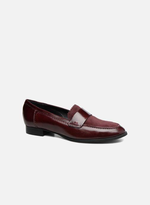 Loafers Georgia Rose Lesly Bordeaux detaljeret billede af skoene