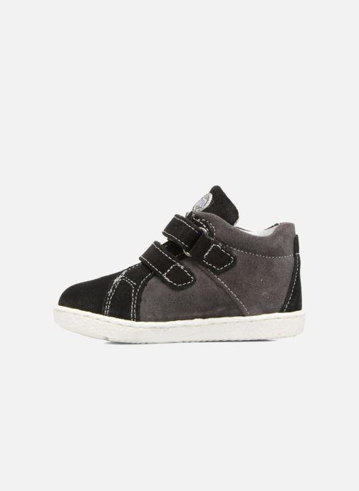 Sneakers Melania POLACCO VELCRI Grigio immagine frontale