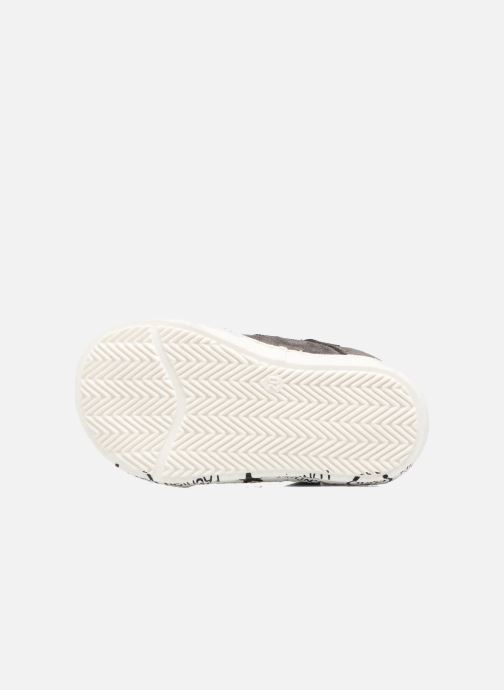 Sneakers Melania POLACCO VELCRI Grigio immagine dall'alto