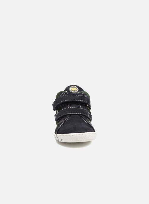 Baskets Melania POLACCO VELCRI Bleu vue portées chaussures
