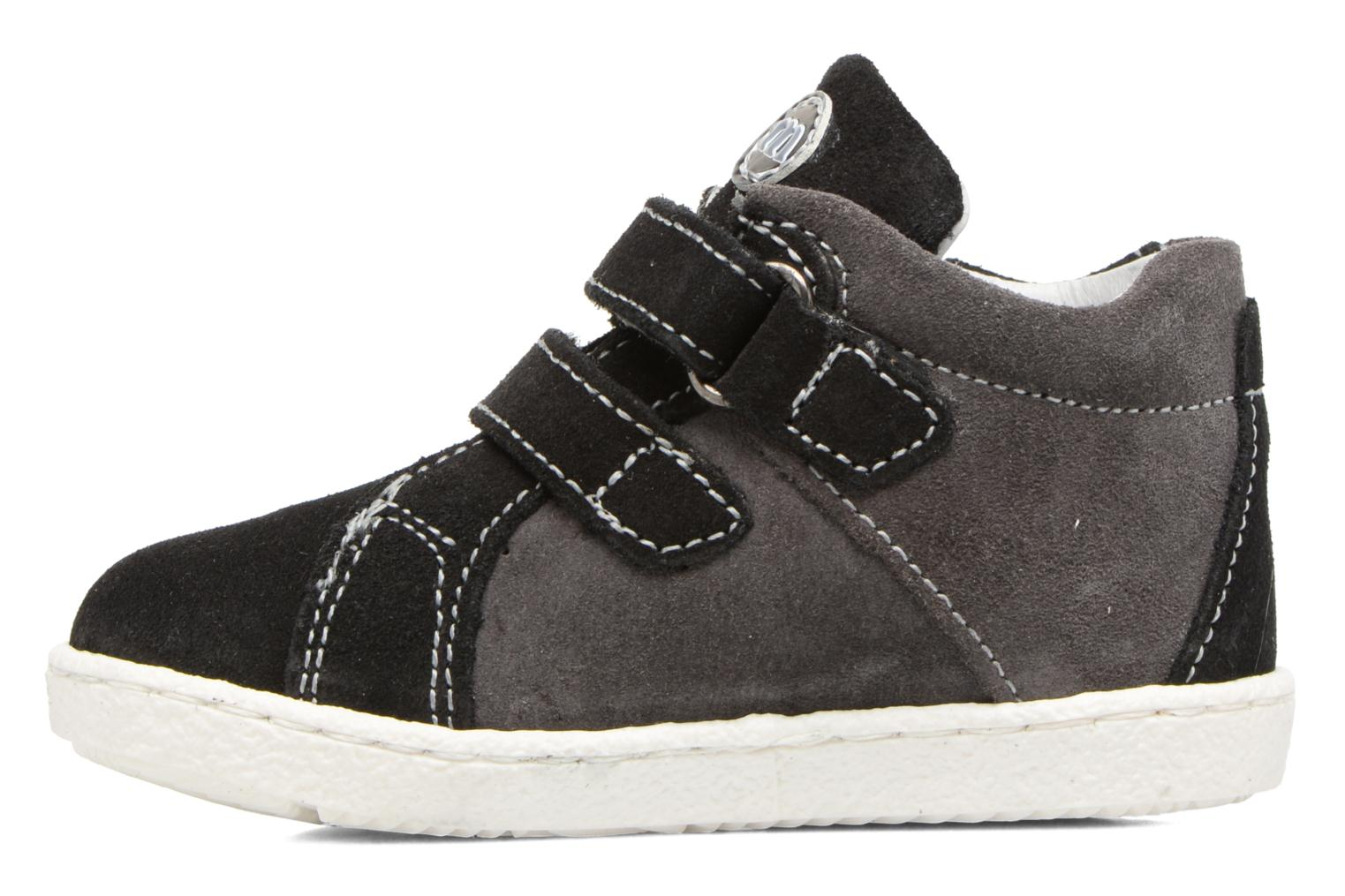 Trainers Melania POLACCO VELCRI Grey front view