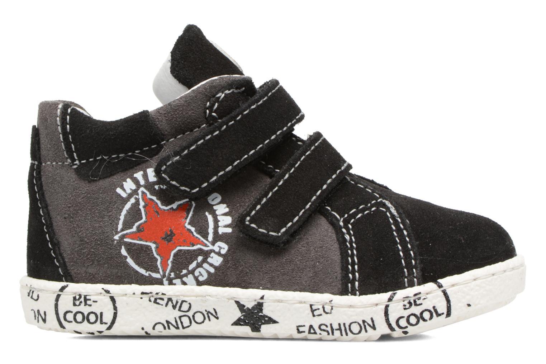 Sneaker Melania POLACCO VELCRI grau ansicht von hinten