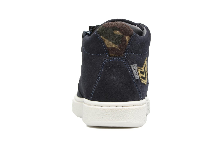 Sneakers Melania POLACCO LACCI Blå Se fra højre