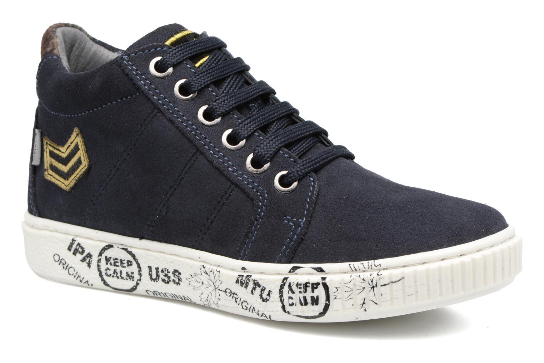 Sneakers Melania POLACCO LACCI Blå detaljeret billede af skoene
