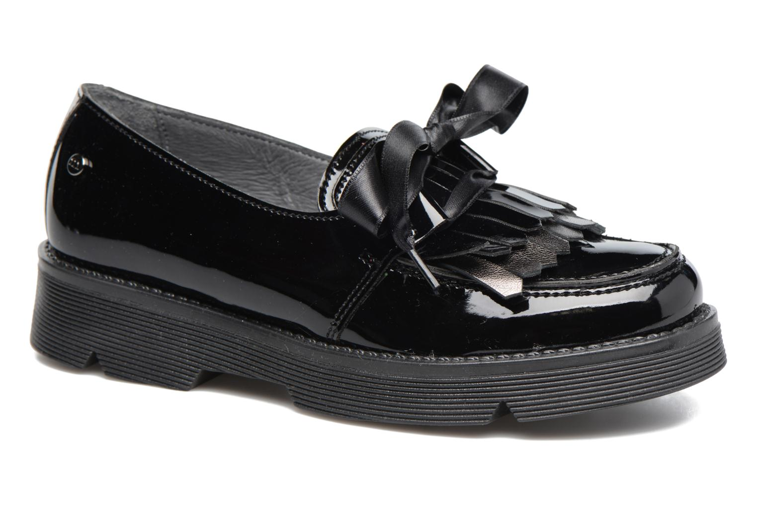 Loafers Melania SC. BASSA LACCI Black detailed view/ Pair view
