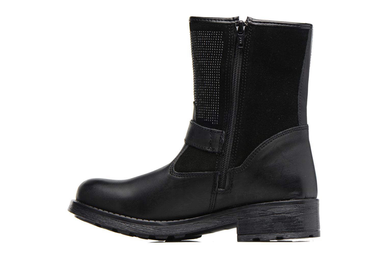 Stiefel Melania STIVALE FIBBIE schwarz ansicht von vorne