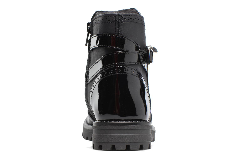 Støvler & gummistøvler Melania TRONCHETTO FIBBIA Sort Se fra højre