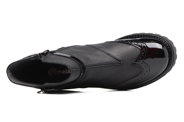 Støvler & gummistøvler Melania TRONCHETTO FIBBIA Sort se fra venstre