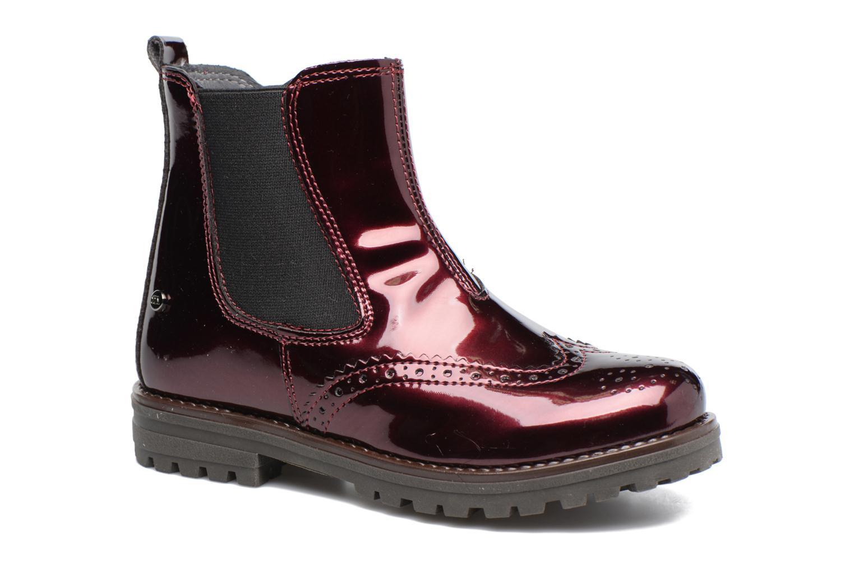 Boots en enkellaarsjes Melania TRONCHETTO Bordeaux detail
