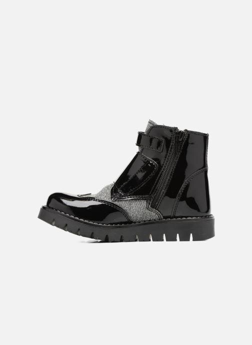 Boots & wellies Melania TRONCHETTO FIBBIE Black front view