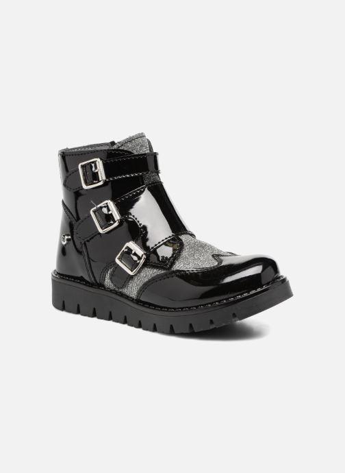 Boots & wellies Melania TRONCHETTO FIBBIE Black detailed view/ Pair view