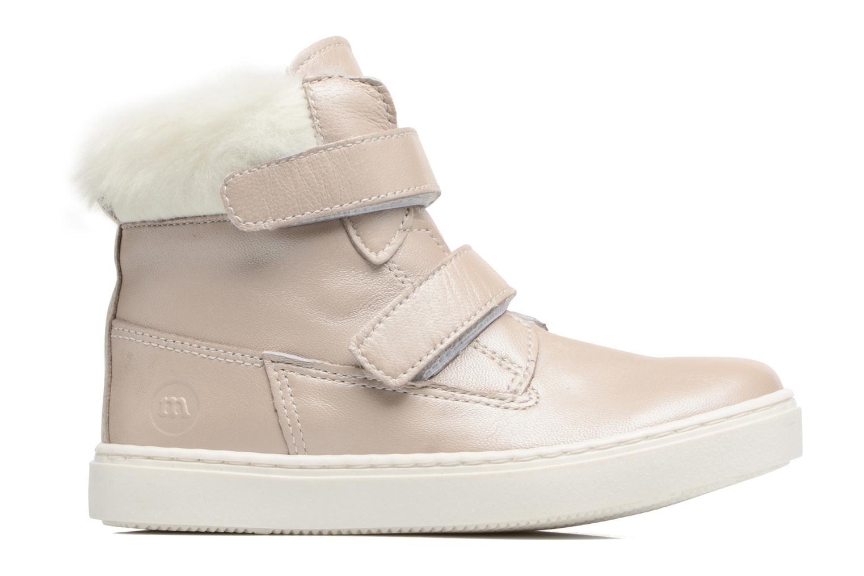Sneakers Melania POLACCO VELCRI B Zilver achterkant