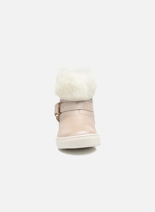 Bottes Melania STIVALE FIBBIA Argent vue portées chaussures