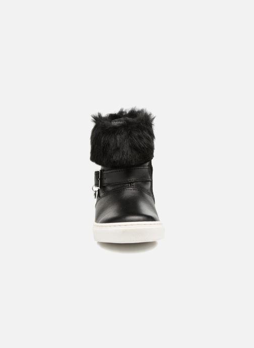 Stiefel Melania STIVALE FIBBIA schwarz schuhe getragen