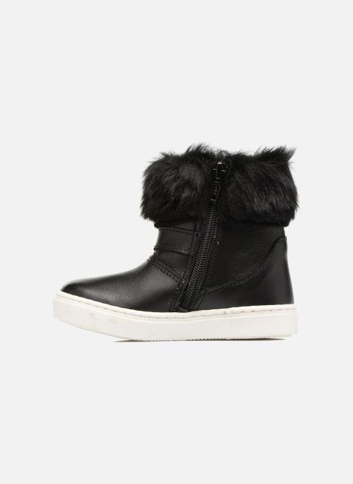 Stiefel Melania STIVALE FIBBIA schwarz ansicht von vorne