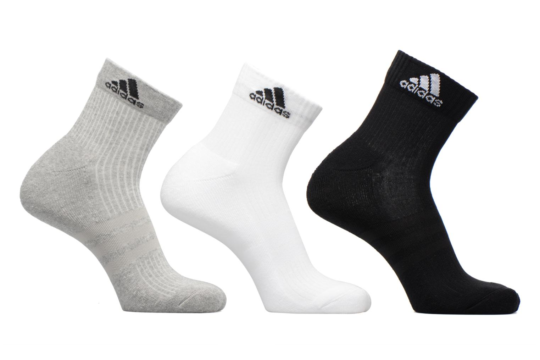 Medias y Calcetines Adidas Performance 3S PER AN HC 3P Gris vista de detalle / par