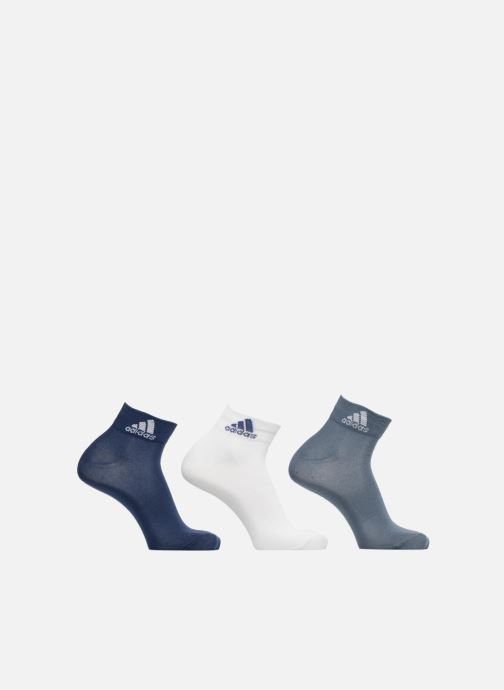 Chaussettes et collants adidas performance PER ANKLE T 3PP Bleu vue détail/paire