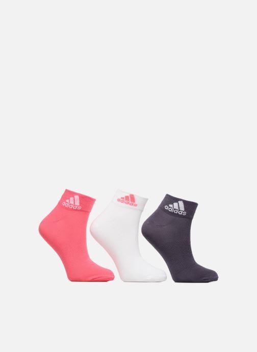 Sokken en panty's adidas performance PER ANKLE T 3PP Roze detail