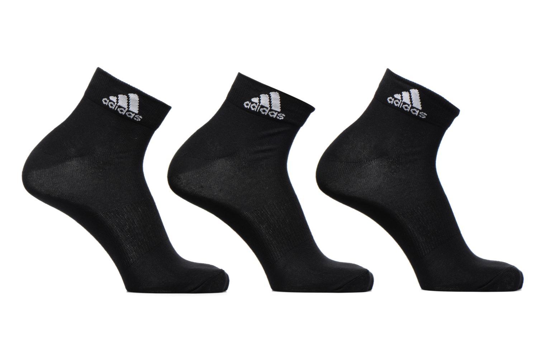 Sokken en panty's Adidas Performance PER ANKLE T 3PP Zwart detail