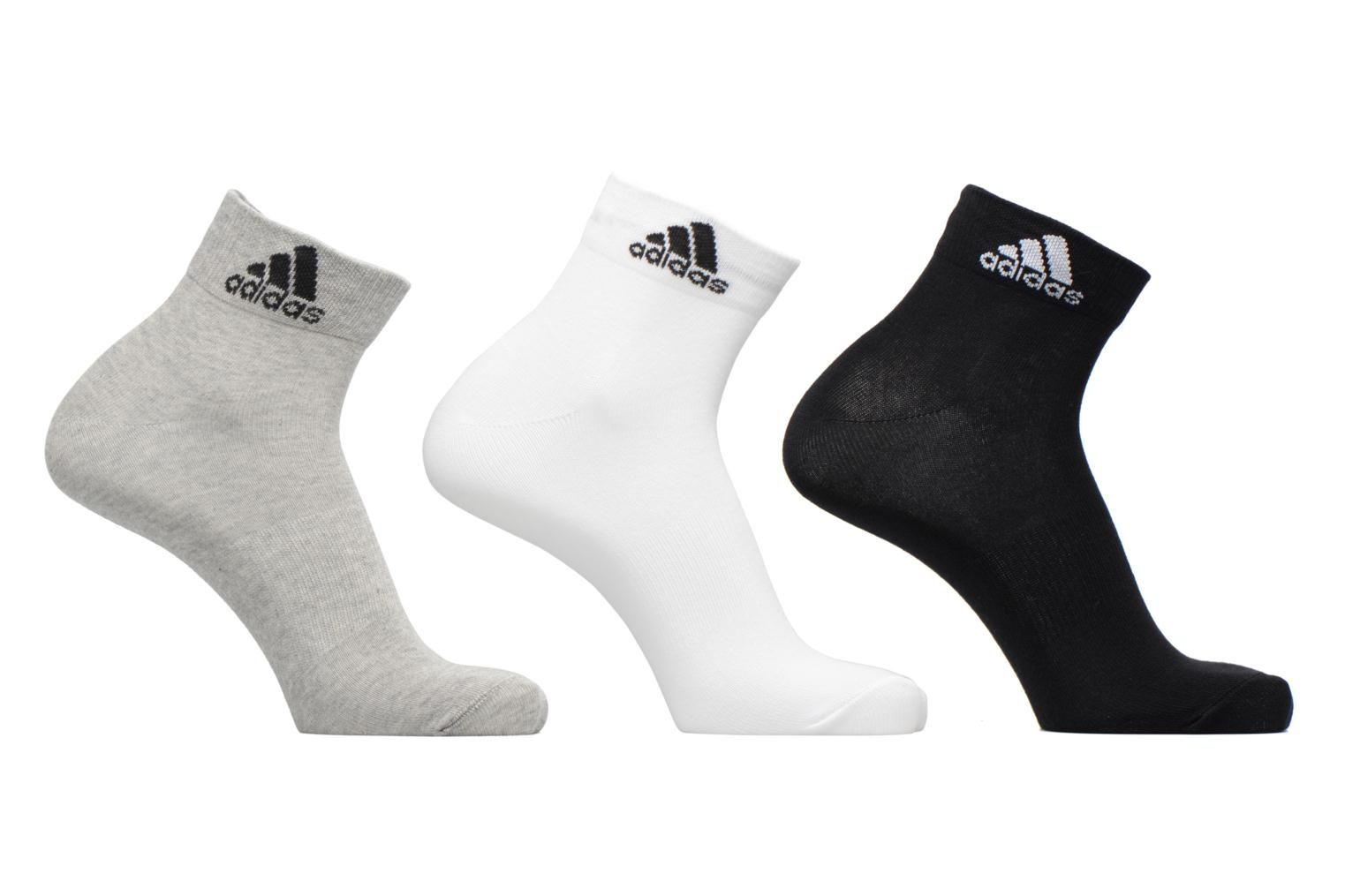 Socks & tights Adidas Performance PER ANKLE T 3PP Grey detailed view/ Pair view