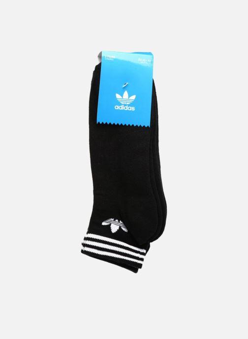Sokken en panty's adidas performance TREFOIL ANK STR 3P Zwart model