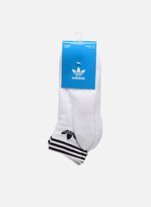 Socken & Strumpfhosen adidas performance TREFOIL ANK STR 3P weiß schuhe getragen