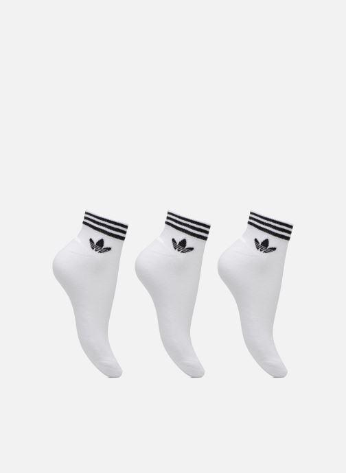 Socken & Strumpfhosen adidas performance TREFOIL ANK STR 3P weiß detaillierte ansicht/modell