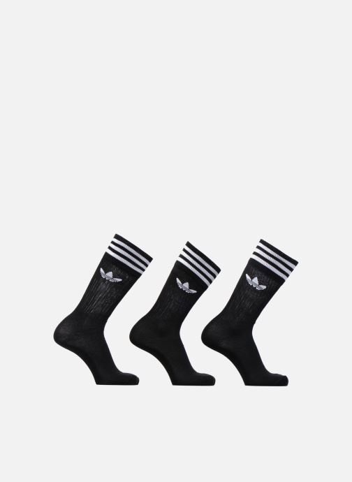 Chaussettes et collants adidas performance SOLID CREW SOCK 3P Noir vue détail/paire