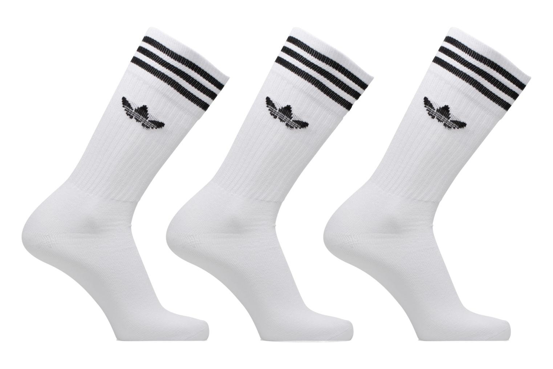 Sokken en panty's Adidas Performance SOLID CREW SOCK Wit detail