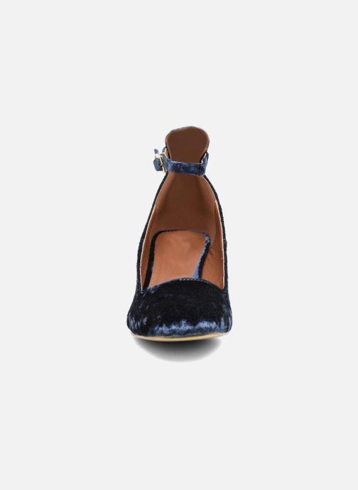 Ballerines I Love Shoes CAMILLA Bleu vue portées chaussures